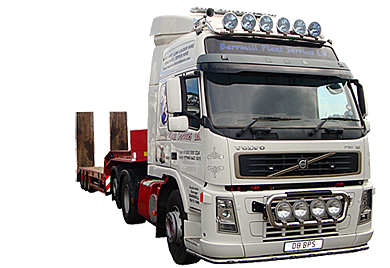 Plant Hire, Low Loader Hire and Tipper Hire in Ayrshire